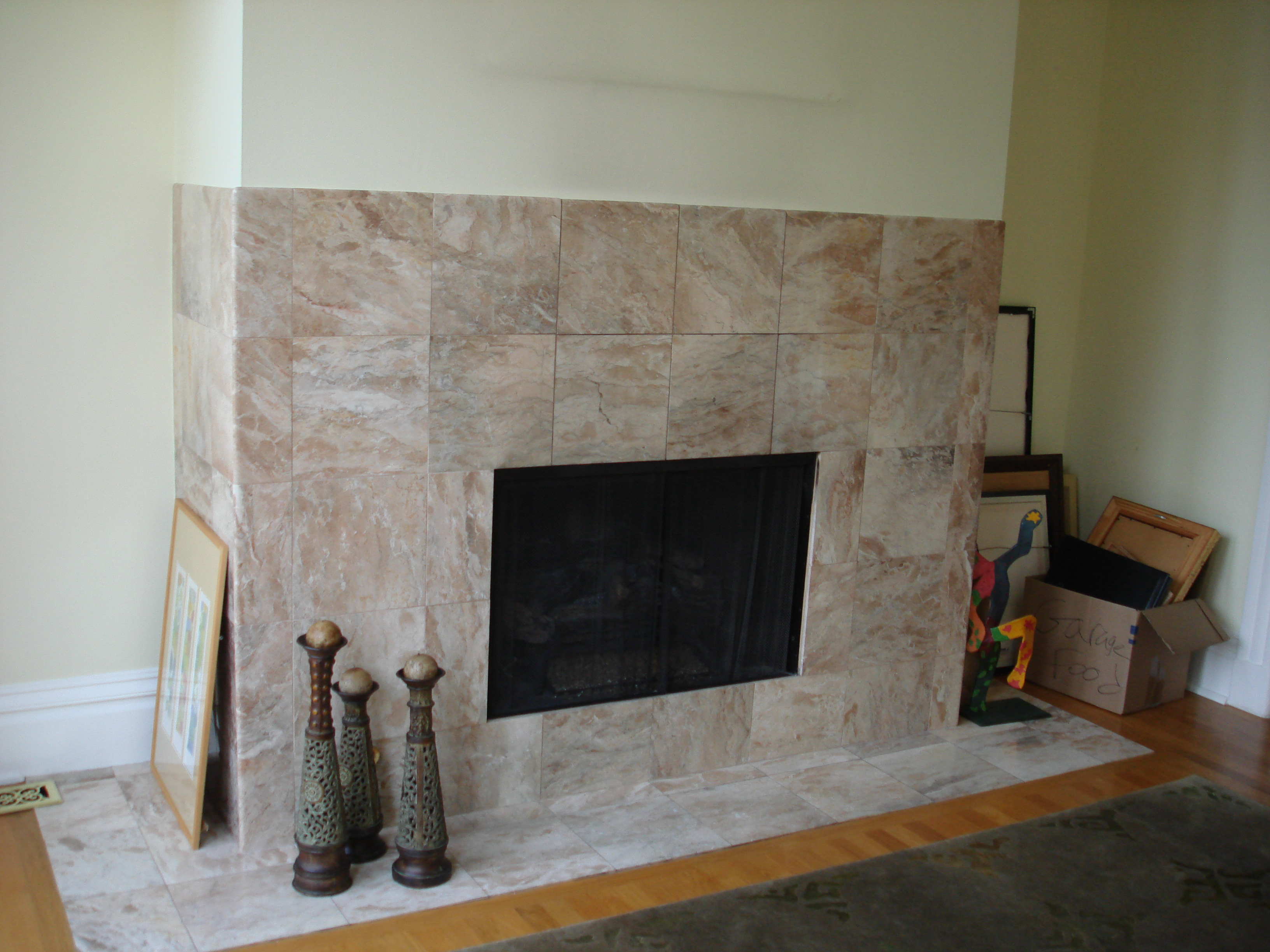 Mantle Without Fireplace Logs For A Gas Fireplace Images Why Not Use The Inside Of Your